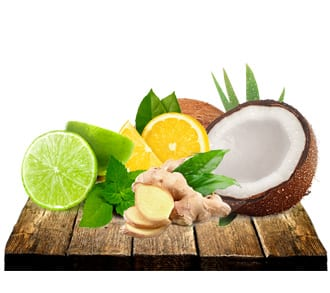 Ingredientes de origem natural
